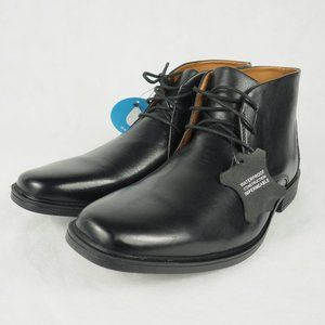 Clarks Men's Tilden Top Dress Shoes Black 8.5
